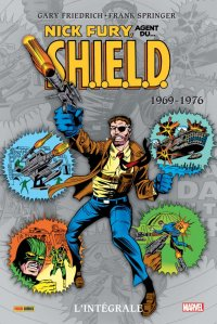 Nick fury, agent du shield - intégrale - 1969-76