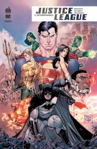 Justice league rebirth - hardcover T.4